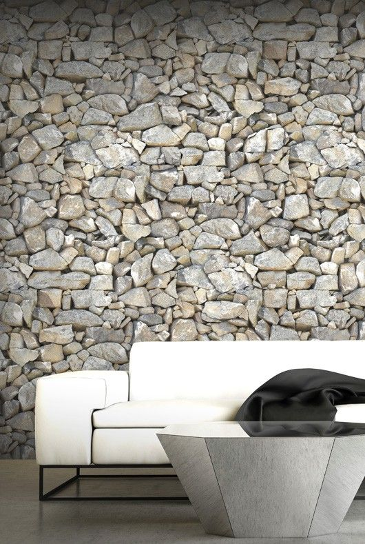 Papier peint pierre plein sud papier peint effet matière thèmes decors muraux