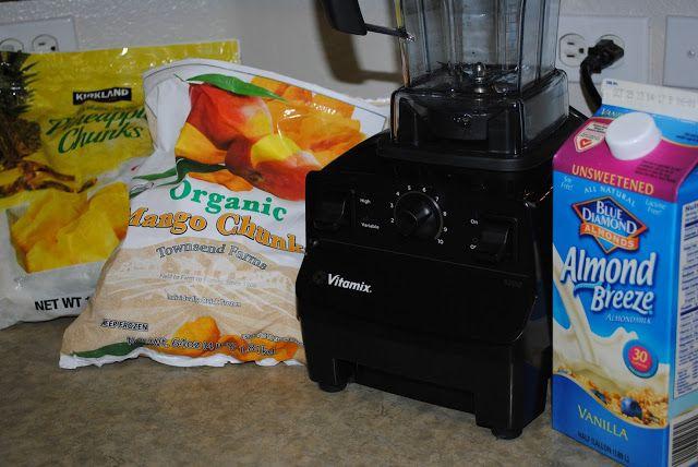{bake} Vitamix Pineapple Mango Sorbet - Create Bake Celebrate