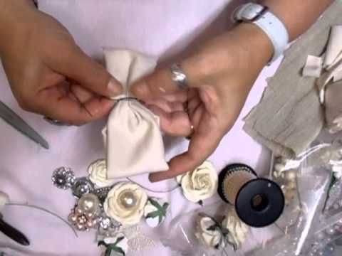 Fiona Jennings as jennings644 - Shabby Chic, Vintage Bow Tutorial - time 24:42; Aug 22, 2013