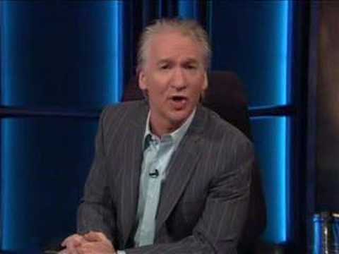 Bill Maher - monlogue about Bush's cabinet - YouTube