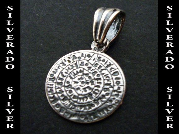 Sterling Silver 925 Ancient Greek Phaistos by SilveradoJewellery, €13.00