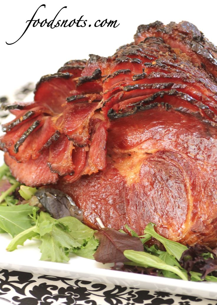 Honey Baked Ham Glaze       1/3 cup brown sugar       1/3 cup honey       2 teaspoons cornstarch       1/4 teaspoon red pepper flakes       1/4 teaspoon cayenne pepper  Mix all ingredients together. Stir until it forms a nice this glaze.  Rub on glaze and bake for 30 last minutes.