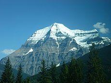 Montañas Rocosas de Canadá - Monte Robson, la cima de las Rocosas Canadienses.