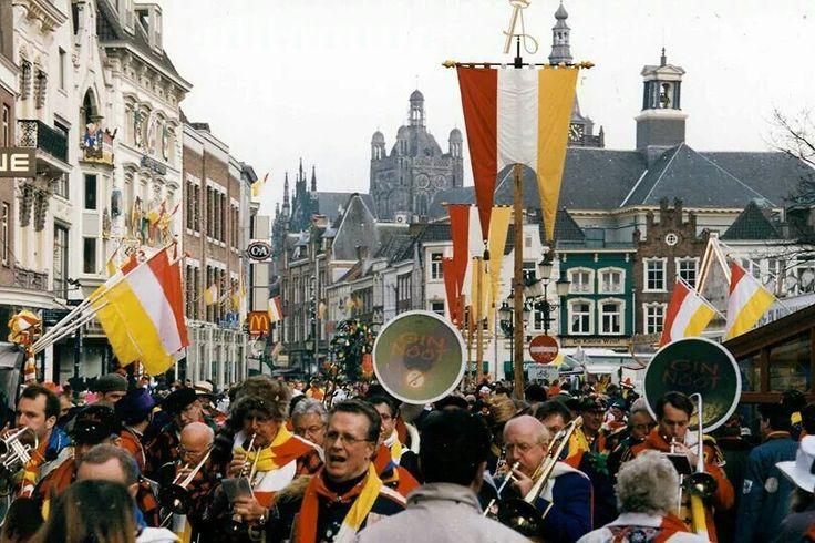 Carnaval in den bosch holland