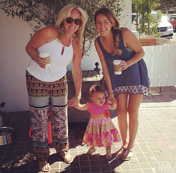 Britt Nicole posted this picture of her mom, Ella, & herself enjoying the sunny weather! Description from brittnicoleglow.blogspot.com. I searched for this on bing.com/images