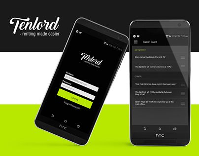 """Check out new work on my @Behance portfolio: """"Tenlord - app design (edu project)"""" http://be.net/gallery/38344479/Tenlord-app-design-(edu-project)"""