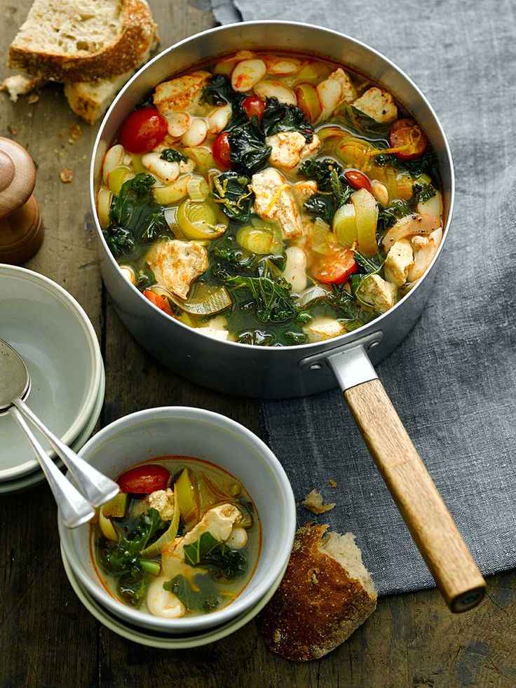 Warm your cockles with our tasty Butterbean and Kale Stew with Smoked Tofoo  Check out our website for more tasty recipes!