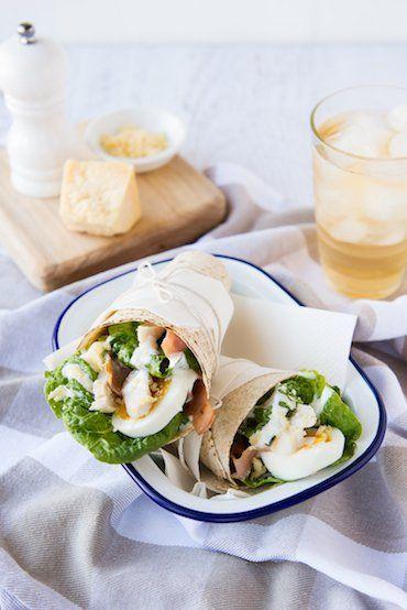 Chicken Caesar Wrap – Sneak Peek