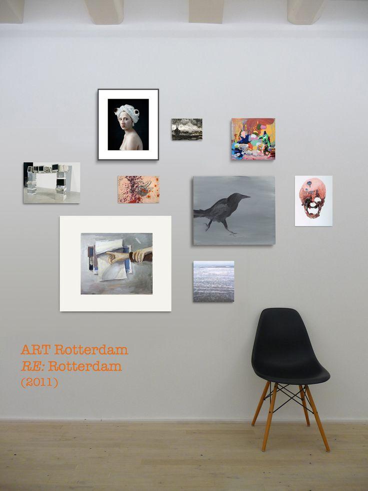 Art en re Rotterdam wall 2011 - We Like Art Walls