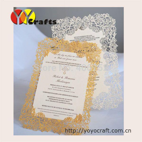 10 компл. Роуз дизайн нежный бумаги лазерная резка пригласительный билет свадьбы карты меню