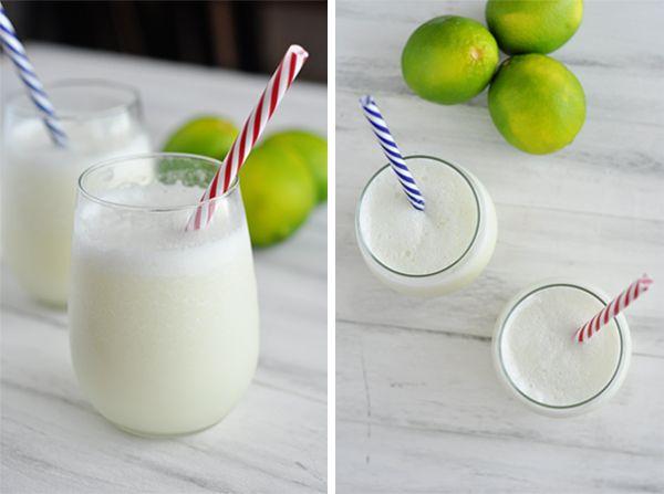 Brazilian Lemonade (Or In Other Words 2-minute Blender Limeade ...