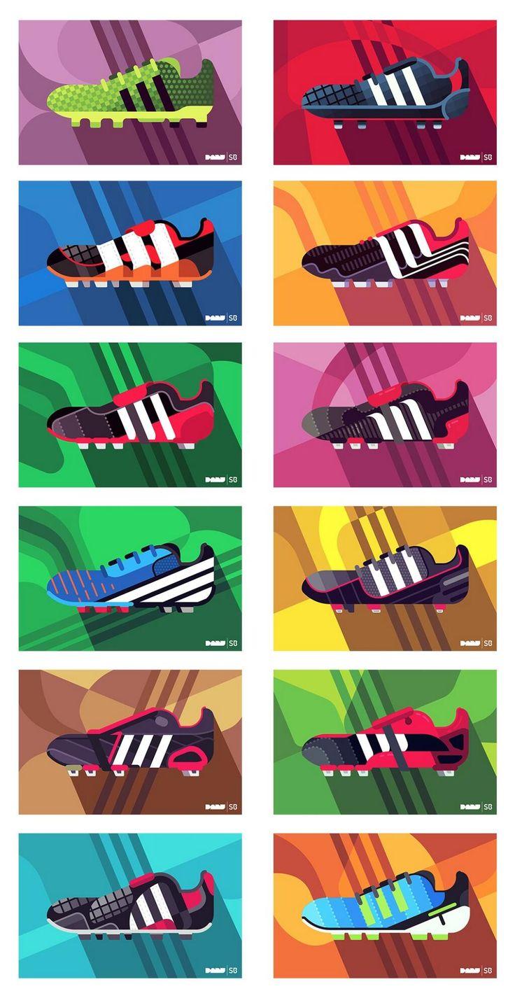 Twitter / danielnyari: I illustrated the Adidas Predator ...