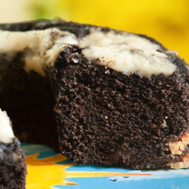 Emery's Double Chocolate Chip Coffee Cakes and Muffins All Cakes are Gluten Free! Our Double Chocolate Chip coffee cake is a chocolate lovers dream come true. Rich, moist, dark chocolate cake, with pl