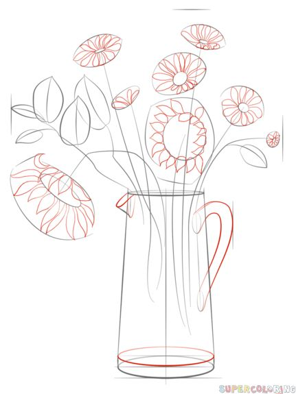 51 best traceable coloring pages images on pinterest for How to draw a rose step by step for beginners