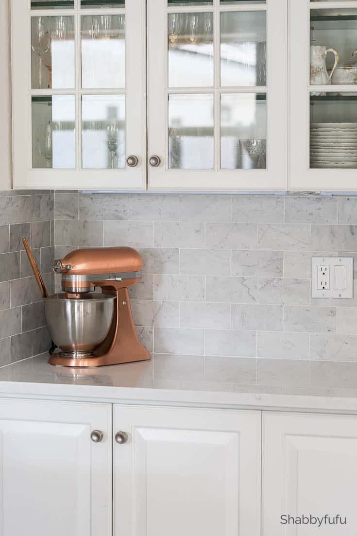 Carrara Marble Tile Backsplash Butlers