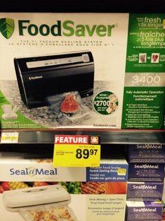 BIG savings on Food Savers!!!