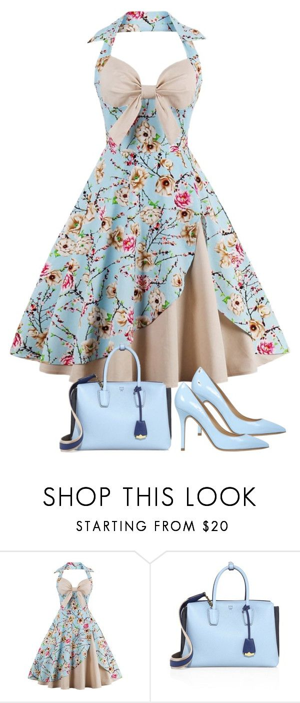 """Untitled #713"" by kristina-lindstrom on Polyvore featuring MCM and Semilla"