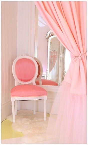 pink dressing room