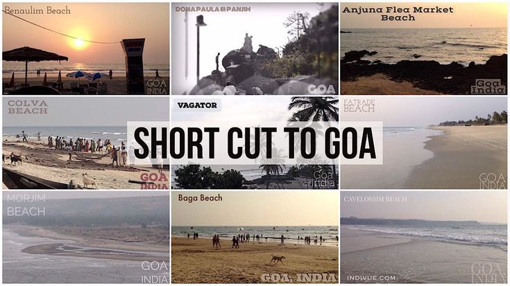 Short cut to Goa; beaches and sights in video previews - authentic and unique videoscenes