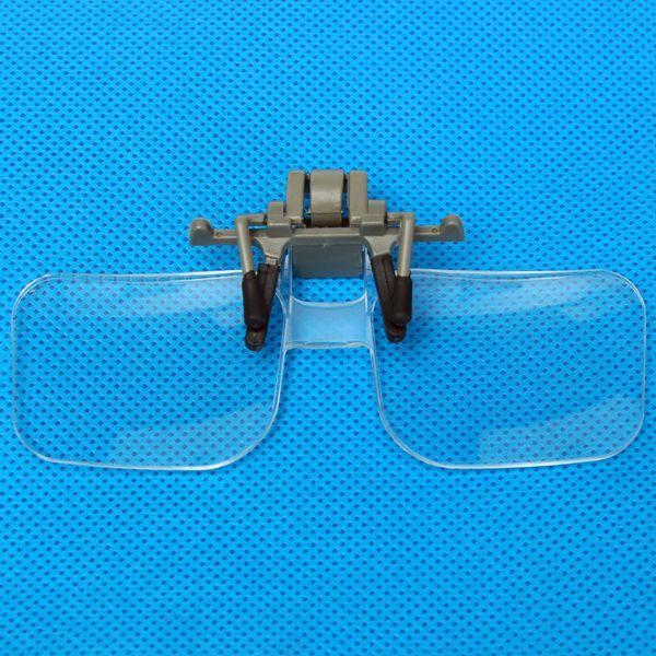 2X lupa de lente de aumento de estilo de copos de mao de ampliacao com clipe de: Bid: 10,40€ Buynow Price 10,40€ Remaining 09 dias 23 hrs