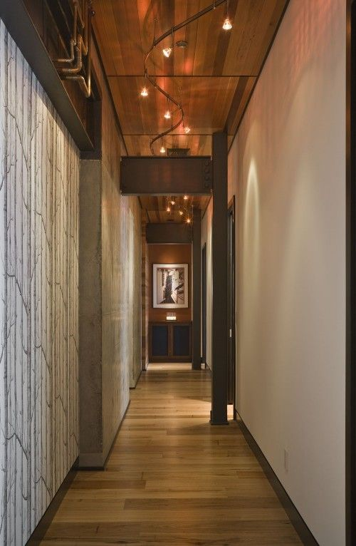 Luxury Hallway Track Lighting