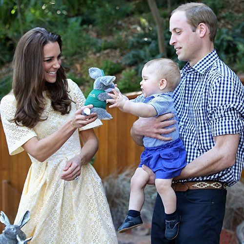 Prince George's cutest moments! At our own Taronga Zoo