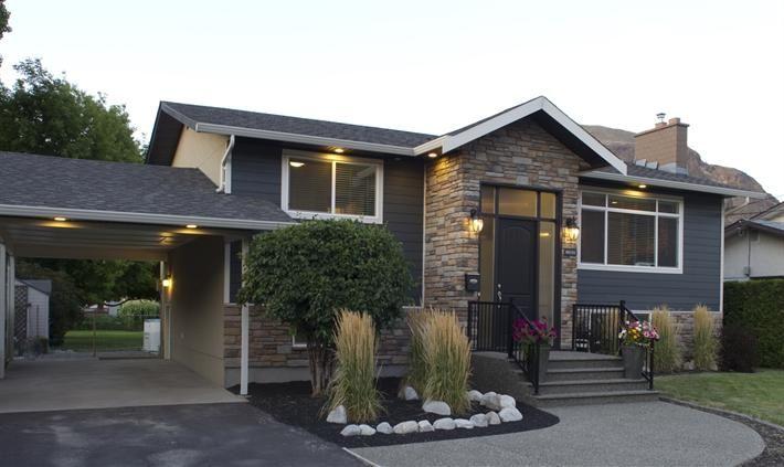 Split Foyer Home Exterior : Best home exterior makeover ideas on pinterest