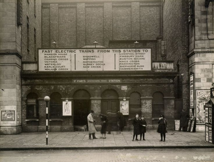 St Mary's station changed its name to Whitechapel Road in 1923. It closed in 1938, suffering too much war damage to ever reopen. #London