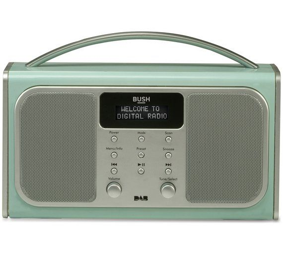 Buy Bush Bluetooth DAB Radio - Blue at Argos.co.uk, visit Argos.co.uk to shop online for Radios, Home audio, Technology