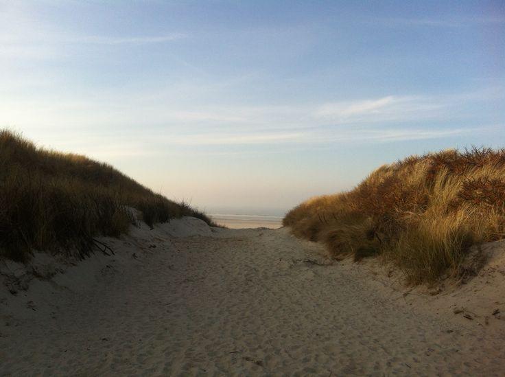 Lieblingsfleck Juist  Strandaufgang menschenleer