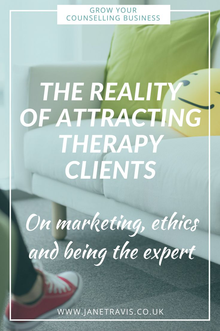 If you want to attract more private practice therapy clients, take a look - the reality of marketing your counselling business, ethics and being the expert