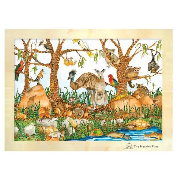 Australian Animals Wood Puzzle