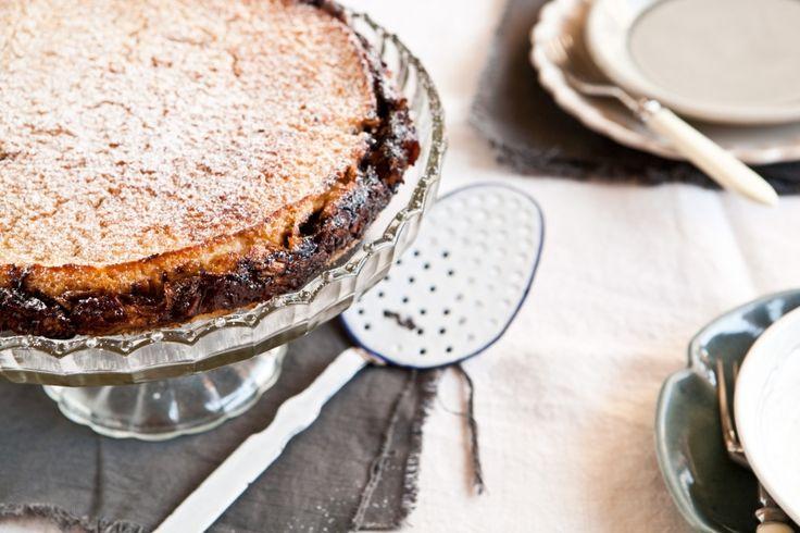 Kitchenette - Jáhelník se švestkami a jablky