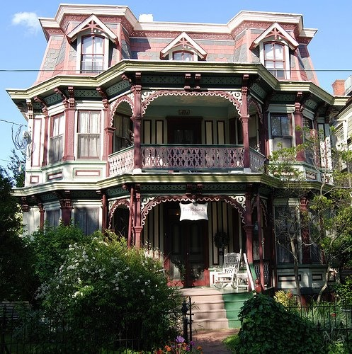 109 Best Painted Ladies Images On Pinterest Victorian