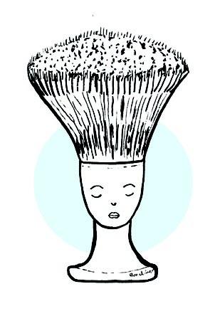Brocha de afeitar / Melina Rapimán