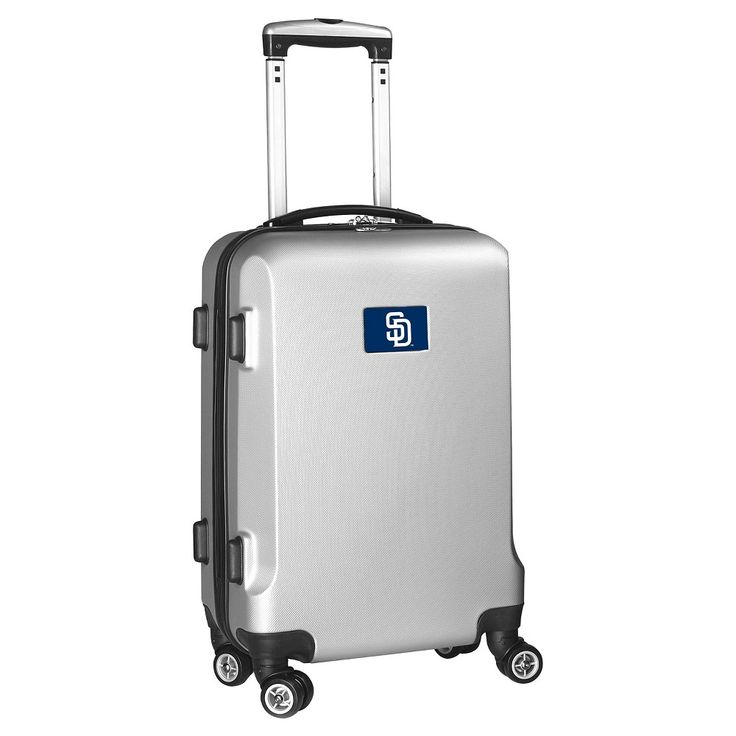 MLB San Diego Padres Carry-On Hardcase Spinner - Silver