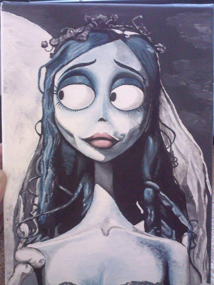 Pin Corpse Bride Victor Wedding Cake Topper Tim Burtons 1 Halloween