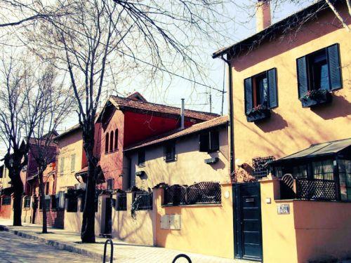 332 mejores im genes sobre hotelitos antiguos de madrid for Barrio ciudad jardin madrid