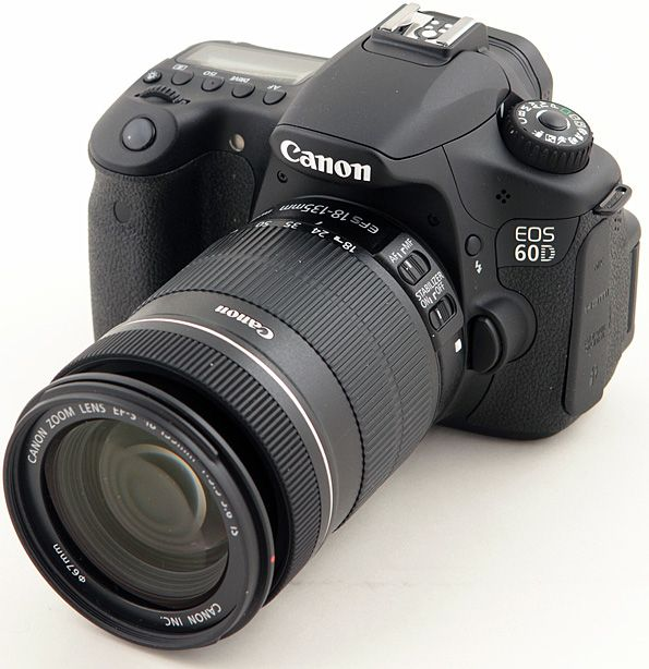 Canon EOS 60D - I think this is the camera I want. Weighing the pros and cons, this is a terrific camera I would love to start with!!