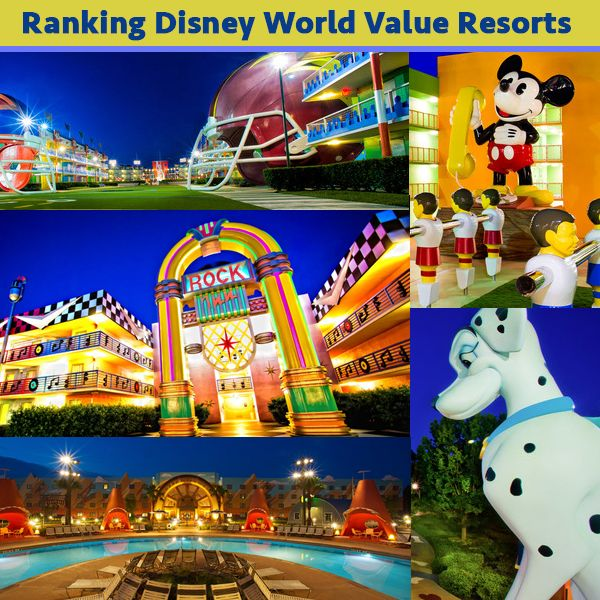 I've just recently returned from a Disney World trip and have now stayed at all of the Value Resorts, so I've got my ranking of those for you today. I also have lots of news to discuss and a quick tip of the day. These are notes from this episode. There's much more info included in the audio so...