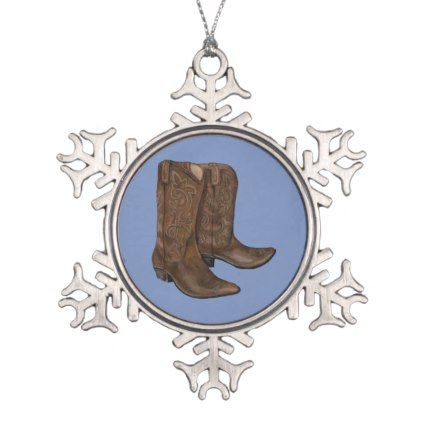Cowboy Up Christmas Ornament - home gifts ideas decor special unique custom individual customized individualized