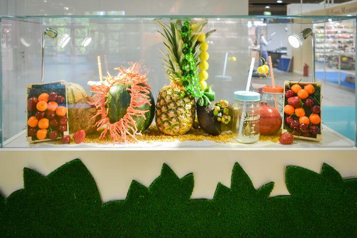 Frutta tropicale e gioielli estivi, fresca estate deco!