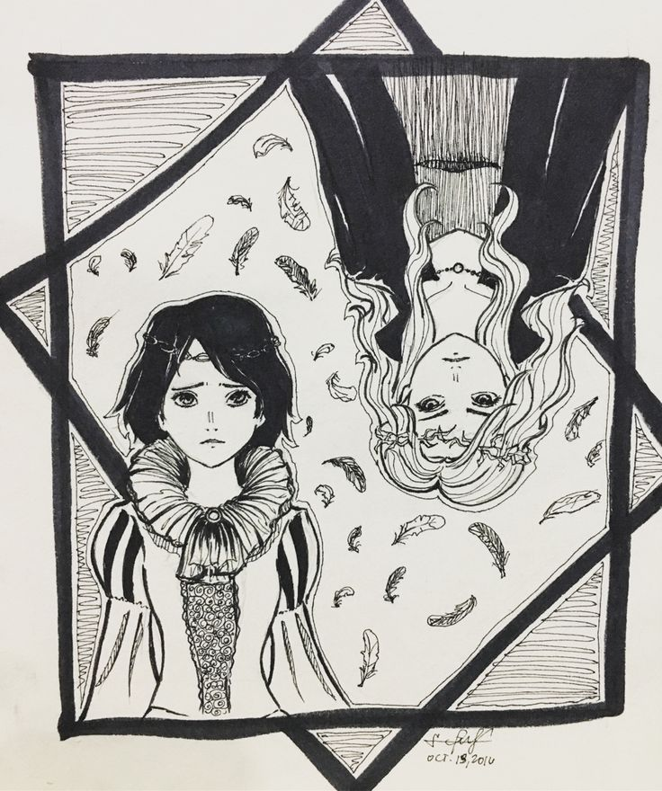 "desono:  ""INKTOBER DAY 13. Agatha and Sophie from The School for Good and Evil!  """