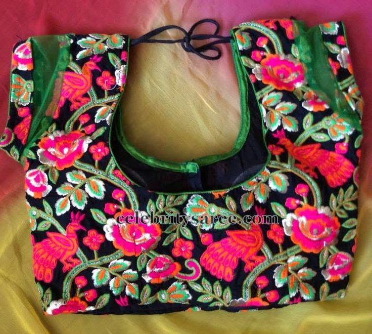 Floral Design Cut Work Blouse | Saree Blouse Patterns