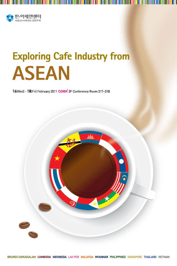 Exploring Cafe Indestry from ASEAN  Creative Designed by WITCHFACTORY