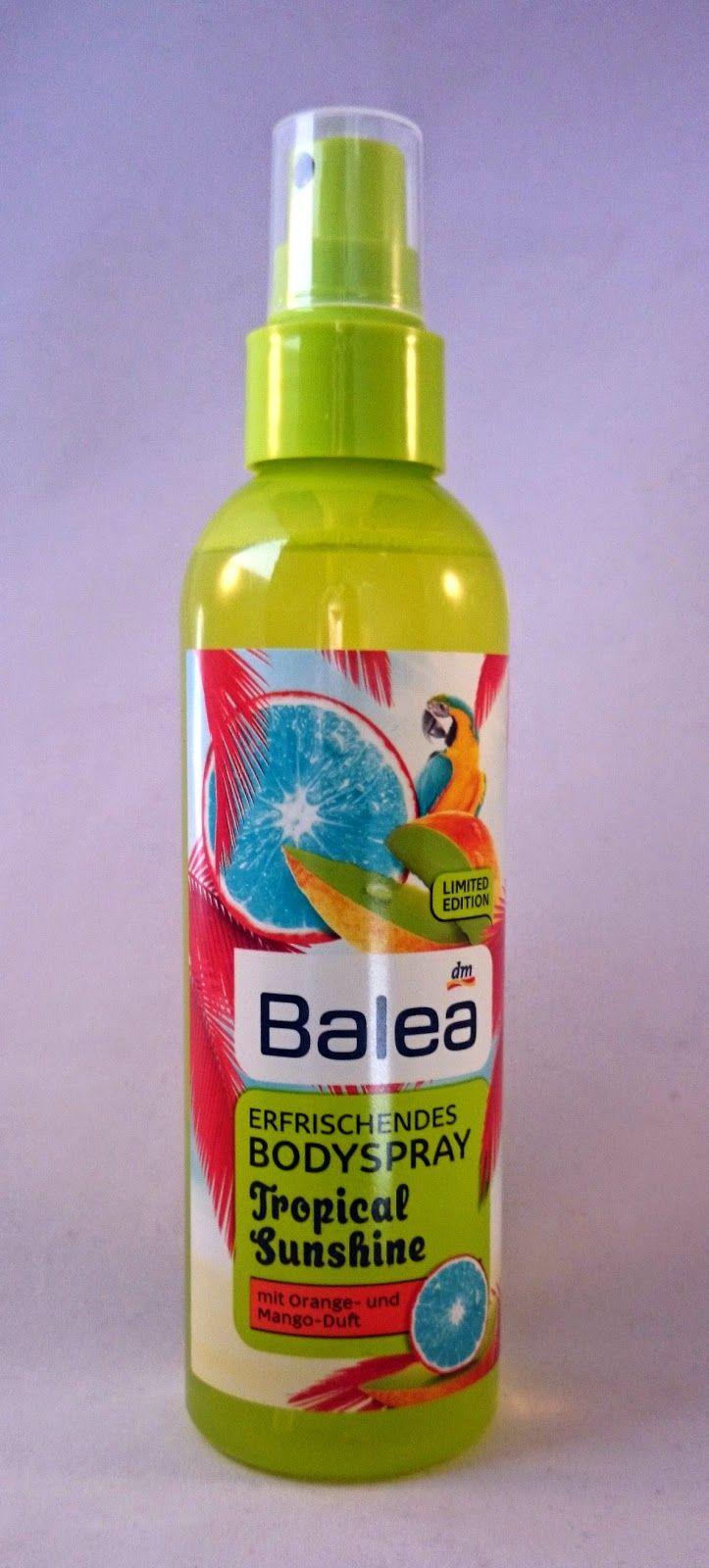 Testimony1990 - Beauty, Boxen, Food, Familie und Produkttests: Balea Körperspray