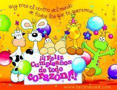 feliz cumpleaños de todo corazón