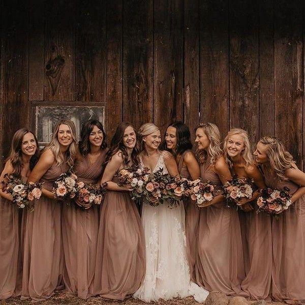 20 Rustic Bohemian Rust Wedding Color Ideas For 2020 Fall Bridesmaid Dresses Fall Bridesmaids Fall Wedding Colors