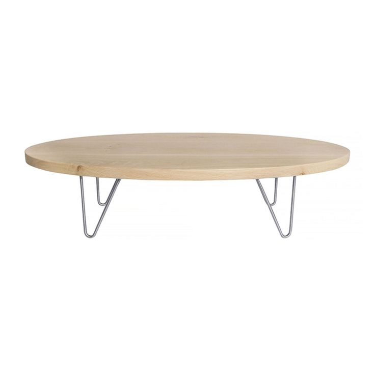 This elliptical top with galvanised steel hairpin legs coffee table can be customized to your requirements. Delivery takes 4 to 6 weeks if sold out.