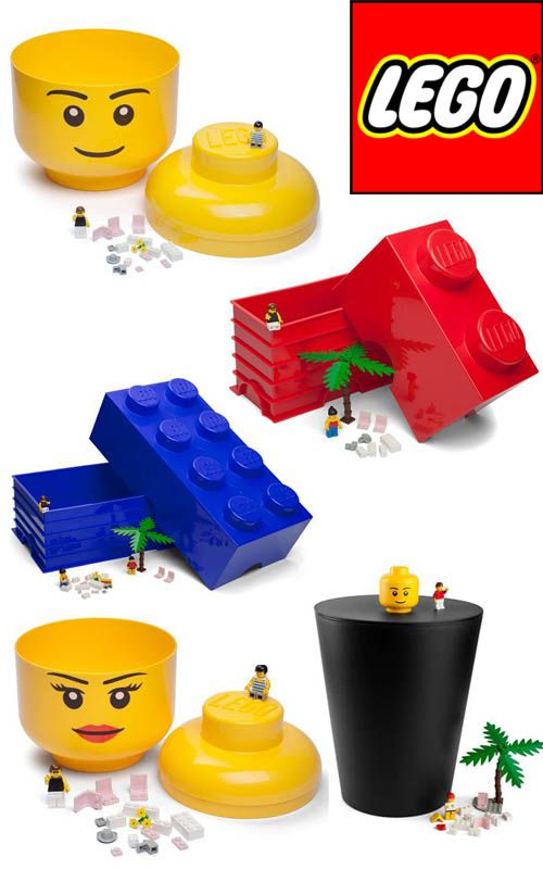 Have Stacks Of Fun With *GIANT* LEGO Block Storage Solutions  Now  Available In